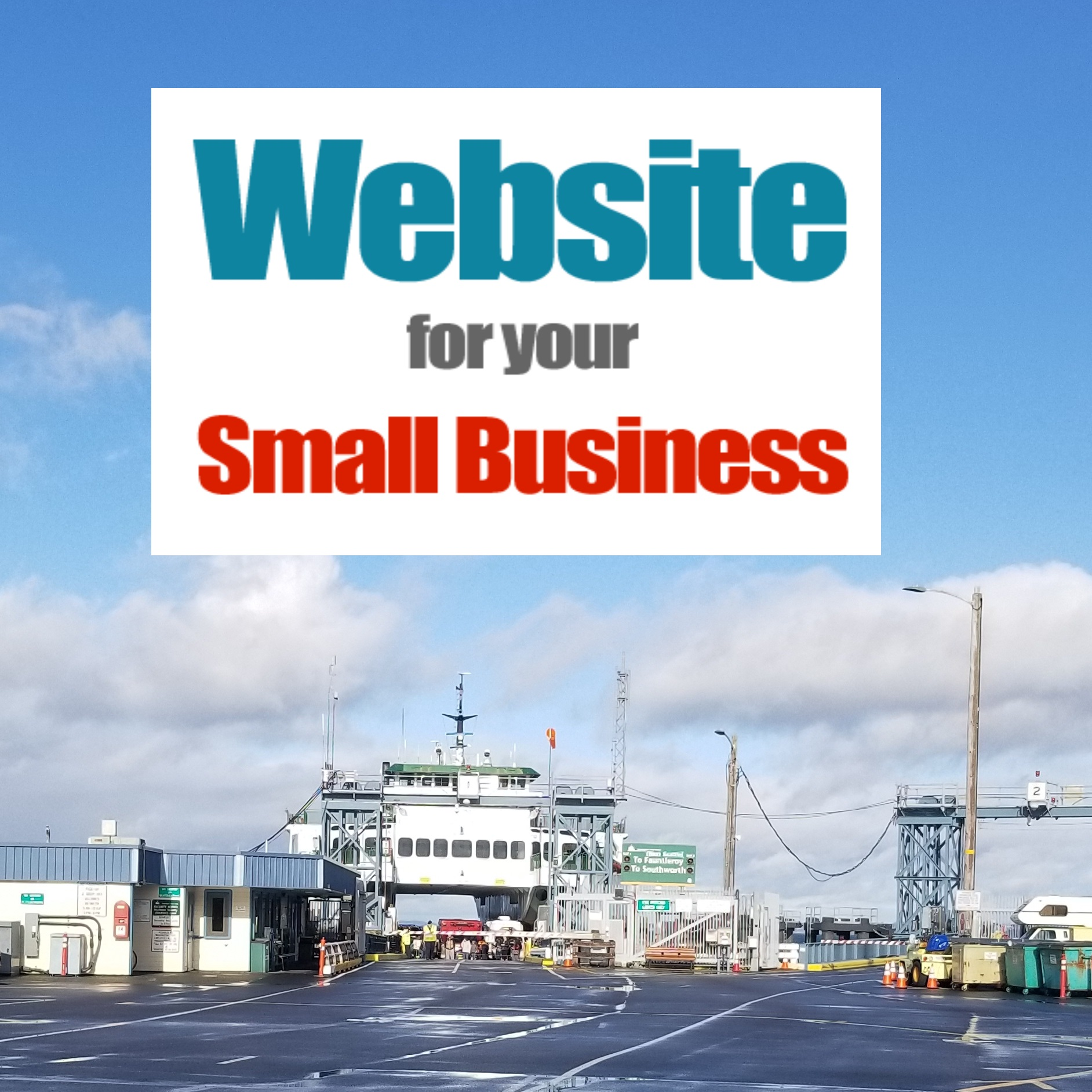 Vashon Island small business websites by 98070 Media